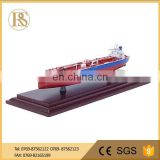 Hot Sell Metal Gift Casting Zinc Alloy Container Ship Model , Model Cruise Ships