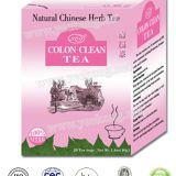 Natural Chinese Herbal Tea Colon Clean Tea