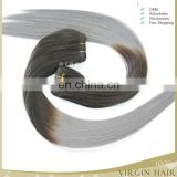 virgin Remy Hair 100 human hair, grey human hair weaving