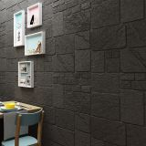 3D DIY self adhesive waterproof embossed stone brick wall sticker foam block CUSHIONI FOAM BRICK