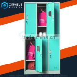 Bottom Price Assembled Structure Design Customizable School Gym Changing Room Locker/ Metal School Locker