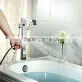 FLOOR MOUNTED BATHROOM SHOWER MIXER FAUCET, BATHTUB HOT AND COLD WATER MIXER FOR SALE                                                                         Quality Choice