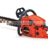 Professional Wood Cutting Machine 52CC Displacement Gasoline Chain Saw , Garden Tools Manufacturer
