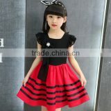 2016 fashion kids clothes names of girls dresses korean style baby girl chiffon princess dress