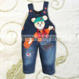 Hot Sale Cartoon Pattern Kids Boys Jeans Pants