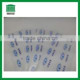Manufacturer custom white PVC Logo label stickers