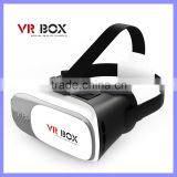 3D VR Headset Box Virtual Reality Box with Adjustable Lens and Strap for iPhone SE 5 5s 6 plus