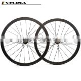 hot saling 2 Years warranty road bike 30mm disc 25mm wide clincher wheel,disc braking wheel 700C wheels with novatec hub