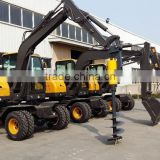 RC Hydraulic Excavator for Sale,Excavator Spare Parts, LG6100 Excavator, Walking Wheel Excavator, 10T Wheel Excavator