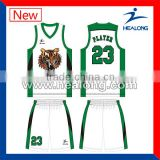 red and hot sale short basketball wear