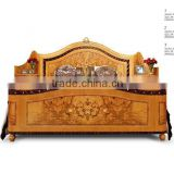 Classic bedroom furniture set royal style solid wood furniture king size bed for sale                                                                         Quality Choice