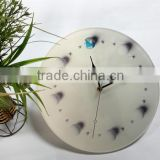 UV Oil 4C Printing Planet Decorative Acrylic Wall Clock