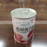Collagen Protein powder tin box