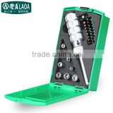 LAOA Hot Sale High Quality 30 in 1 Ratchet Screwdriver Set Multifunction Sockets Screwdriver set