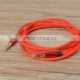 High end gold plated aux cable 3.5mm male to male audio cable extension cable