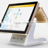 POSBW1511 Full Metal Jacket Durable 15 Inch 5 Wire Resistive Touch Screen All In One POS Machine