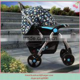 2015 new Baby Buggy Jogger stroller grey color baby carriage