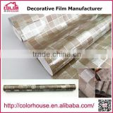 Factory wholesale decorative pvc self adhesive film 1.22M*50M                                                                                                         Supplier's Choice