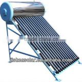 stable and reliable integrative pressurized solar water heater with three target vacuum tube