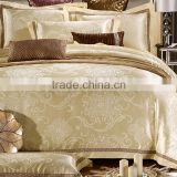 colorful silk Cotton Satin jacquard quality duvet cover,bedding sheet sets,comforter set