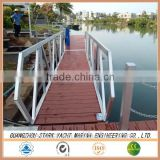 Aluminum Dock Ramp with wood decking made in China