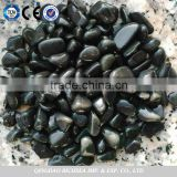 Natural Black basalt pebble stone