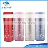 450ml thermal insulation office stainless steel drinking water bottle