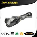 Onlystar GS-9031 long distance hunting flashlight q5 high power led torch light 250lm strong light torch                                                                         Quality Choice