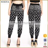 sport pants ethnic baggy pants women's pants