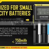 NiteCore d2 charger Intellicharger led flashlight Battery Charger Li-ion /Ni-MH LiFePO4 18650 charger for sony vtc5