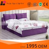 Modern style platform fabric soft bed mattress