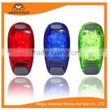 Running Lights Super Bright LED Safety Light with Clip on Velcro Straps Steady Strobe Bike Tail Lights Warning High Visibility