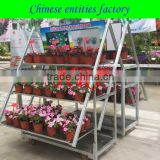 Flower Display Rack Cart for Sale wooden flower cart flower cart flower display cart metal flower cart decorative flo