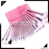 New design private label oem wholesale high quality travelling custom logo synthetic professional make up brushes