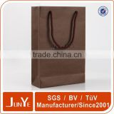 fancy coloured custom designed logo red wine paper packaging bags                                                                                                         Supplier's Choice