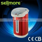 Colorful stainless steel hot water electric pot (thermo kettle) CE/CB