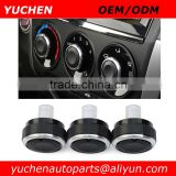 YUCHEN 3pcs/set Car Air Conditioning Knob AC Knob Heat Control Switch Button Knob For Honda City CRIDER Jazz Fit