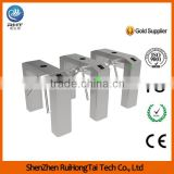 Finger Print Security Control Tripod Turnstile with Stainless Steel Materials Access Control Tripod Turnstile