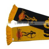 2016 new fashional customized printed polyester sport club football scarf                                                                         Quality Choice