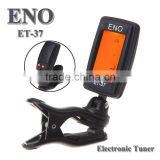 DIHAO ENO Guitar tuner Mini LCD Clip-on Electronic Guitar Chromatic Bass Violin Ukulel Tuner Wind Instrument Universal Guitar