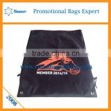 Hot style promotional custom printed drawstring shoe bags wholesale