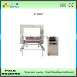 Horizontal Wire Knife CNC Contour Polyurethane Rigid Foam Cutting Machine