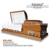 Top quality wood coffin box for sale