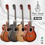 40 inch cutway acoustic guitar wholesale