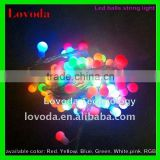 5m, 50leds, waterproof led garland string lights, indoor led light string, led ball string light LFDB-50RGB
