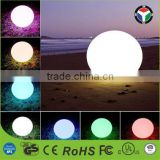 Hot Sale Magic LED Ball /PE Material Rotational Moulding Floating Ball Waterproof Ball with ROHS CE