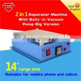 Repair Tools Mobile LCD Touch Screen Glass Panel Separator vacuum phone and tablet repair machine