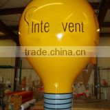 Events Advertising Inflatable Light Bulb Balloon Decoration