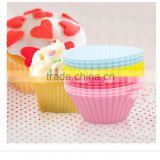 High Temperature Silicone Mold Cake Mold Silicon Baking Cups Muffin Cup utensils for baking