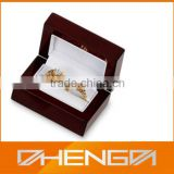 HOT SALE Factory Price custom made-in-china small wooden luxury engagement ring box (ZDS-SJF052)